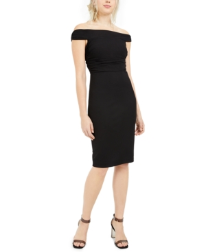 Trina Trina Turk Picture Perfect Off-The-Shoulder Dress