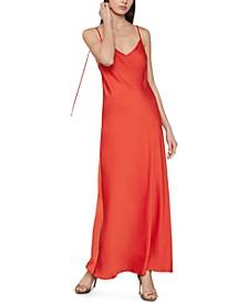 Strappy-Back Dress
