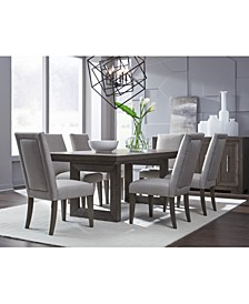 Facets Double Pedestal Dining Collection