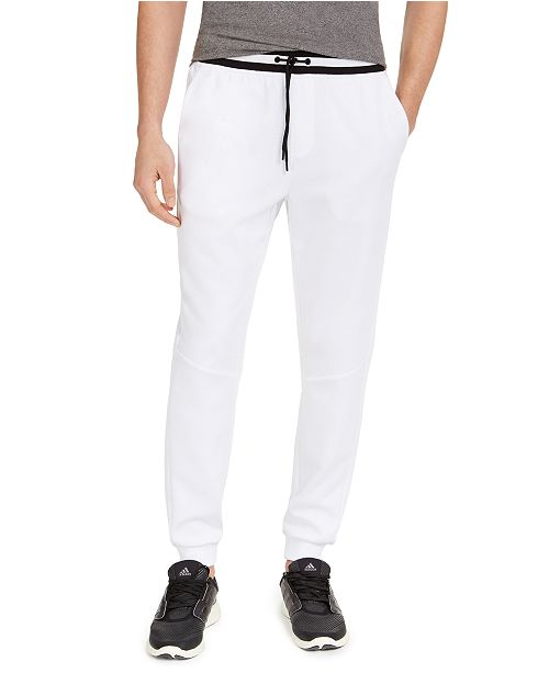 Ideology Men's Contrast-Trim Joggers, Created For Macy's