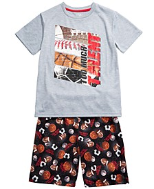 Big Boys 2-Pc. Too Much Talent Pajamas Set