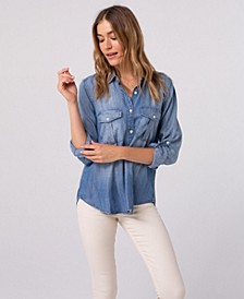 Thread Supply Two Pocket Chambray Shirt