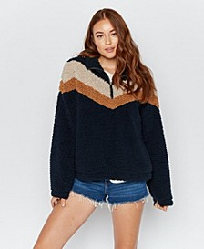 Thread Supply Quarter Zip Sherpa Pullover
