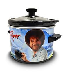 Bob Ross 2 Quart Slow Cooker