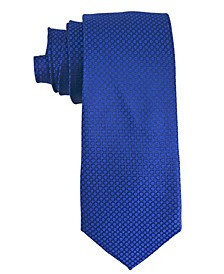 Men's Small Circle Silk Tie