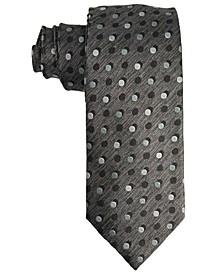 Men's Dot Design Silk Tie