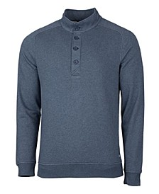 Men's Big and Tall Saturday Mock Sweatshirt