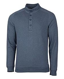 Men's Big and Tall Saturday Mock Sweatshirt