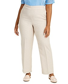 Plus Size Nantucket Pull-On Pants
