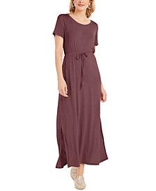 Style & Co Tie-Waist Maxi Dress, Created for Macy's