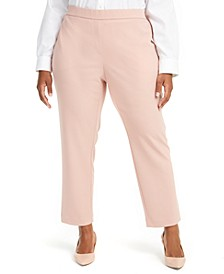 Plus Size Pull-On Dress Pants, Created for Macy's