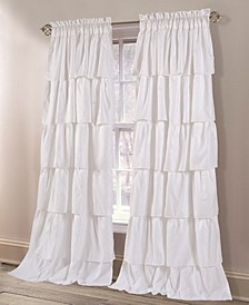 "Tiered Ruffle 38"" x 84"" Curtain Set"