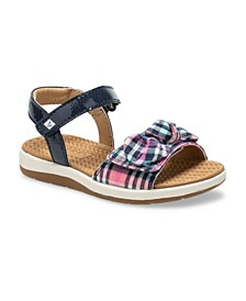 Toddler and Little Girls Galley Sandal