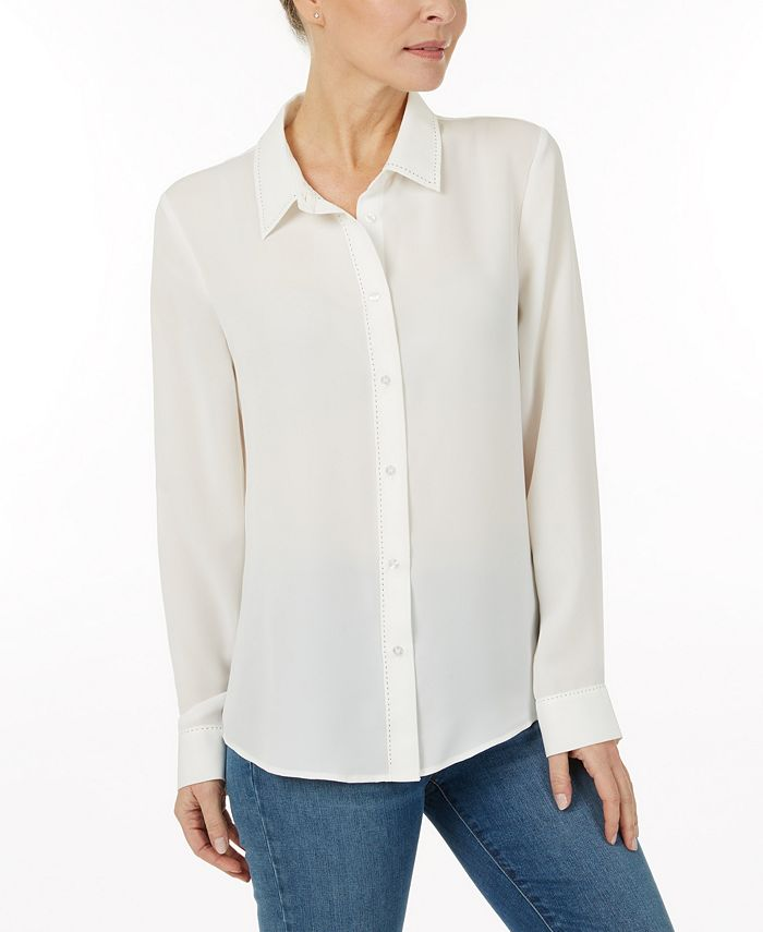 Laundry by Shelli Segal - Solid blouse