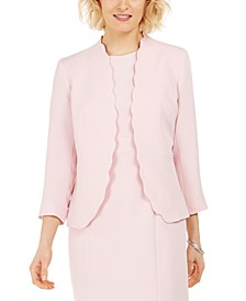 Petite Stretch Crepe Jacket