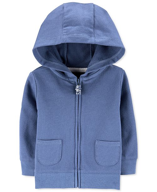 Carter's Baby Boys Zip-Up Cotton French Terry Hoodie