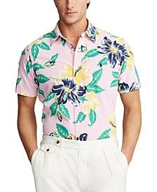 Men's Big & Tall Hawaiian Oxford Shirt
