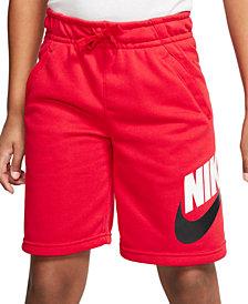 Nike Big Boys Club Fleece Shorts