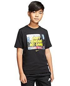 Big Boys Game-Print Cotton T-Shirt