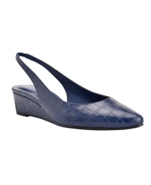 Bandolino Caiman Dress Wedge Heels Women's Shoes