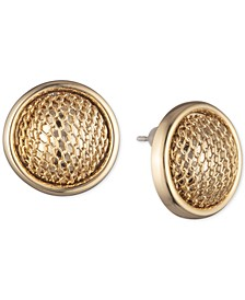 Mesh Ball Stud Earrings