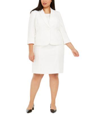 Plus Size Text Leaf Jacquard Dress