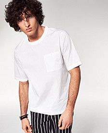 INC Men's Woven Pocket T-Shirt, Created for Macy's