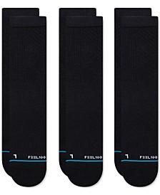 Men's 3-Pk. Prime Crew Socks