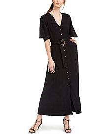 Calvin Klein Belted Maxi Dress