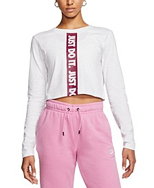 Women's Sportswear Cotton Cropped Top