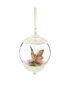 Butterfly Meadow Gold - 20th Anniversary Globe Ornament, Macy's Exclusive