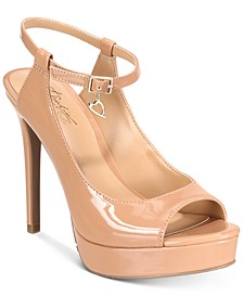 Chhloe Platform Slingback Sandals, Created for Macy's