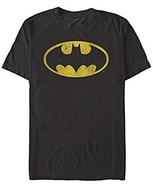 DC Men's Batman Classic Oval Logo Short Sleeve T-Shirt