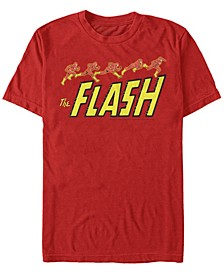 DC Men's The Flash Running Short Sleeve T-Shirt
