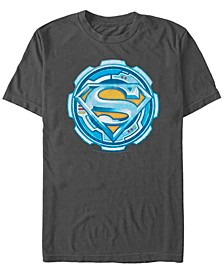 DC Men's Superman Technical Gear Logo Short Sleeve T-Shirt