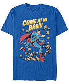 DC Men's Superman Come At Me Bro Short Sleeve T-Shirt