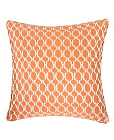Georgia Jacquard Square Decorative Throw Pillow