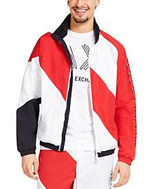 A X Armani Exchange Men's Colorblocked Blouson Jacket