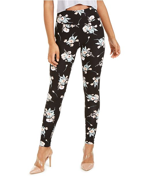 INC International Concepts INC Floral Print Leggings, Created For Macy's