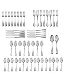 Satin Eastford 50-Pc. Flatware Set, Service for 8