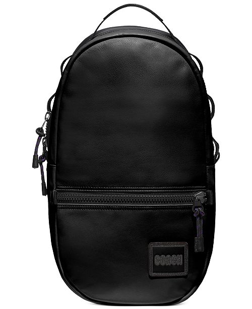 COACH Men's Pacer Leather Backpack