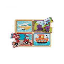 Melissa and Doug Np Wooden Puzzle - Ready, Set, Go