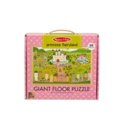 Melissa Doug Natural Play Giant Floor Puzzle: Princess Fairyland 60 Pieces