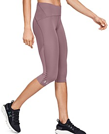 Women's Fly By HeatGear® Compression Capri Leggings