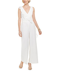 Connected Ruffled Jumpsuit