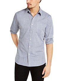 Men's Kevin Regular-Fit Chambray Shirt, Created for Macy's