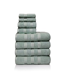 Infinity Piece of 8 Towel Set