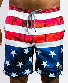 Men's Beach Swim Pocketed Board Short