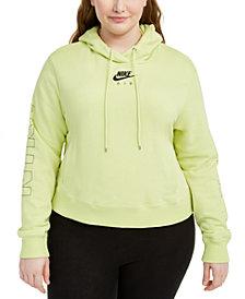 Nike Plus Size Air Logo Hoodie