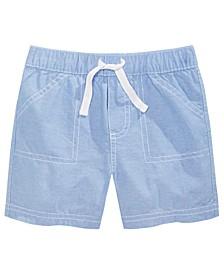 Baby Boys Cotton Chambray Shorts, Created for Macy's